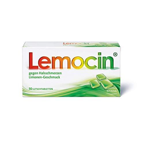 Lemocin Halsschmerztabletten - Lutschtabletten mit...