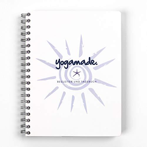 yogamade. Begleiter und Tagebuch. Ein Geschenk...