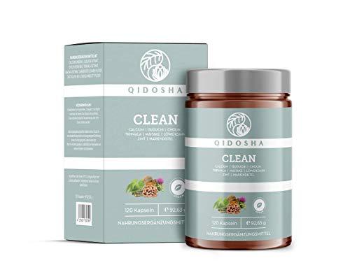 QIDOSHA® Clean Detox Kapseln zur Stärkung der...