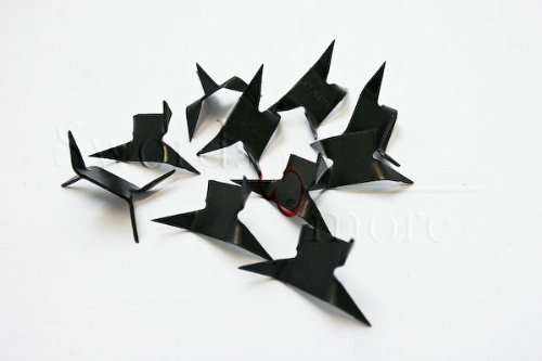 Ninja-Krähenfüße, Tashibishi 10er-Set, Zubehör...