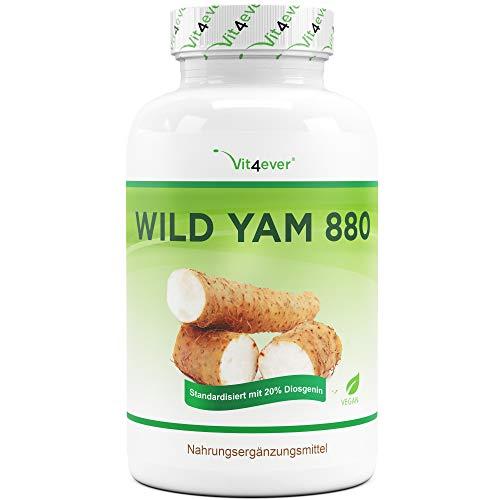 Wild Yam Wurzel Extrakt - 240 Kapseln (4...