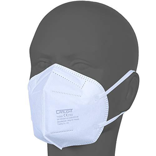 AUPROTEC 50 Stück FFP2 Maske Atemschutzmaske EU...