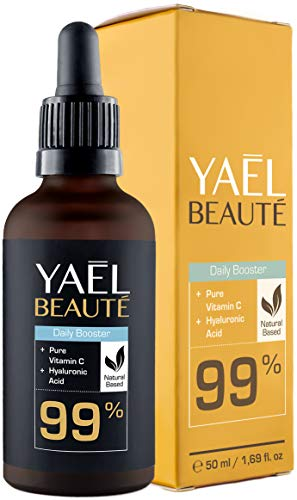 99% Natürliches Vitamin C & Hyaluron Serum ●...