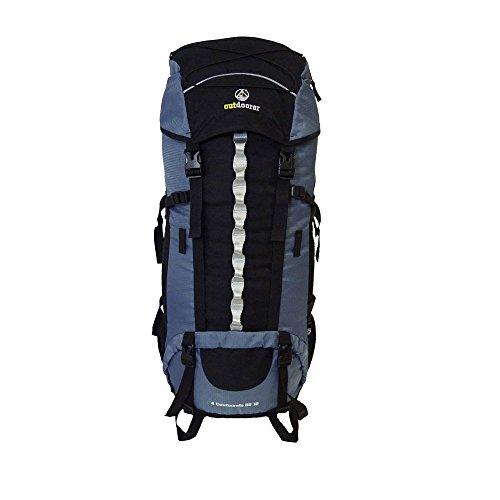 outdoorer Backpacker-Rucksack mit Regenhülle 4...