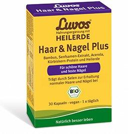 Luvos Heilerde Haar & Nagel Plus Kapseln Spar-Set...