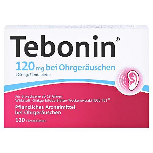 Tebonin bei Ohrgeräuschen 120 mg Tabletten, 120...
