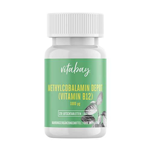 Vitabay Vitamin B12 Depot 1000 mcg • 120 vegane...