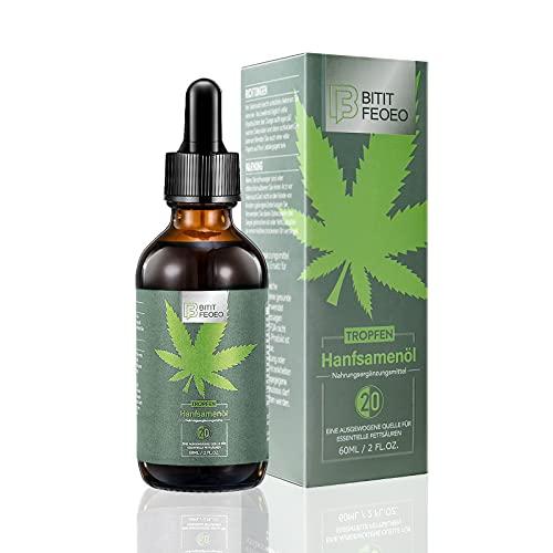 BITIT FEOEO® Hanfsamenöl 20   (60ML)  Vitamine I...