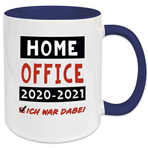 Home Office 2020-2021 - ICH WAR DABEI - Tasse mit...