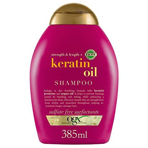 OGX Anti-Breakage Keratin Oil Shampoo, 1er Pack (1...