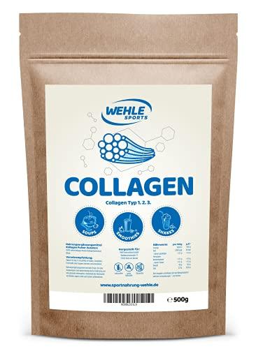 Collagen Pulver 500g - Kollagen Hydrolysat Peptide...