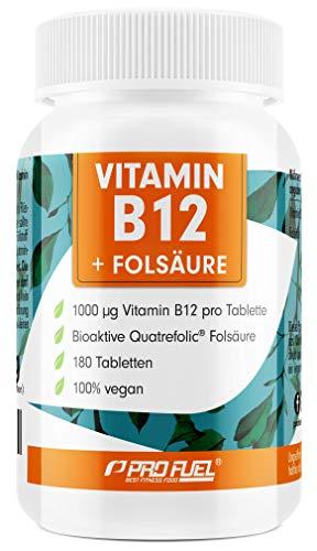 VITAMIN B12 Depot • 1000µg + FOLSÄURE •...