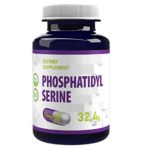 Phosphatidylserin 150mg (aus Soja) 120 Vegan...