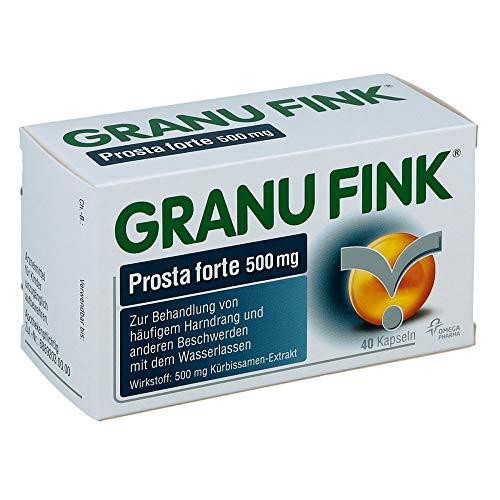 GRANU FINK Prosta forte 500 mg Kapseln, 40 St....