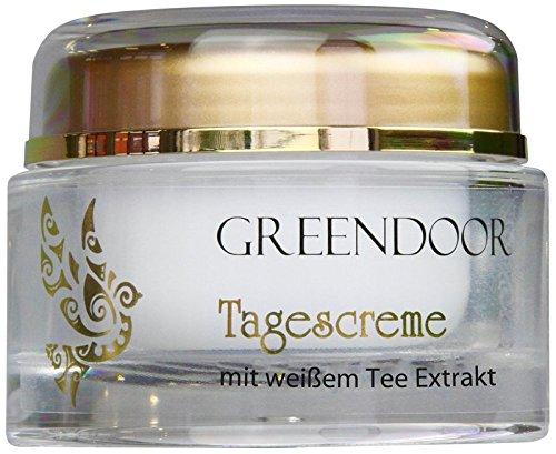 Greendoor Tagescreme Frauen weißer Bio-Tee 50ml,...