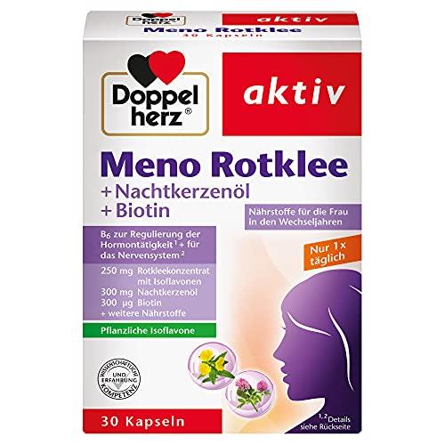 Doppelherz Meno Rotklee – Nährstoffe für die...