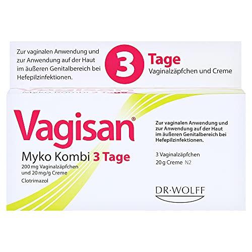 Vagisan Myko Kombi 3 Tage Vaginalzäpfchen und...