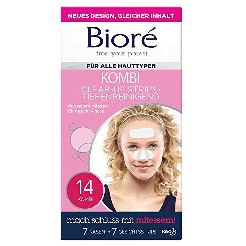Bioré Clear up Strips - 1 x 14 Stück - Gesicht...