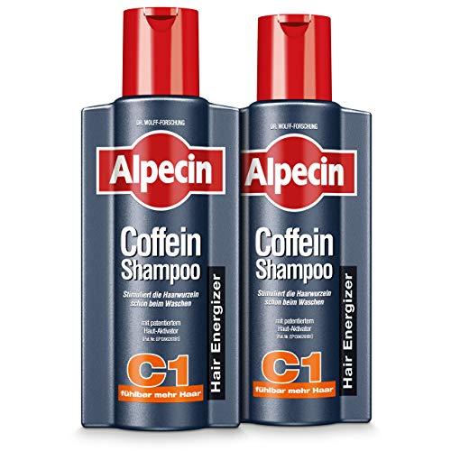 XXL Alpecin Coffein-Shampoo C1, 2 x 375ml - Beugt...