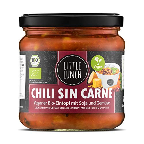 Little Lunch Bio Eintopf Chili Sin Carne | 350ml |...