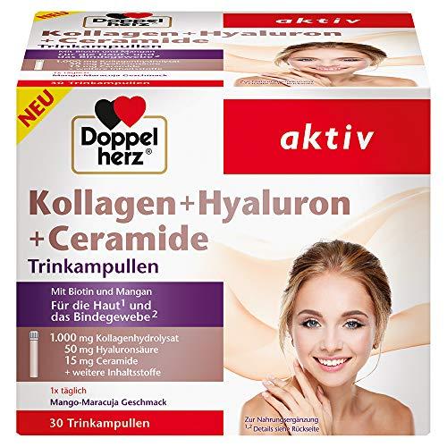 Doppelherz Kollagen + Hyaluron + Ceramide – Mit...