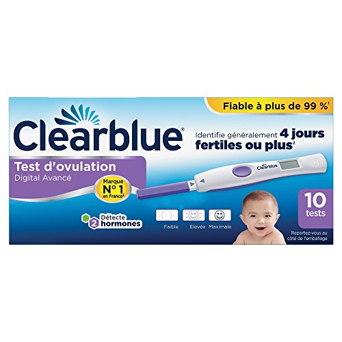 Clearblue Digital Ovulation Test 4 Days 10 Units