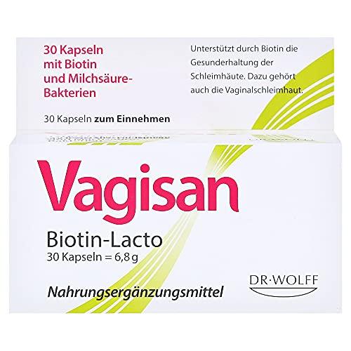 Vagisan Biotin-Lacto Kapseln, 30 St