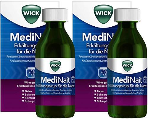 WICK MediNait Erkältungssirup für die Nacht 2 x...