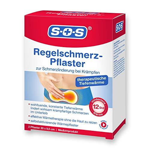 SOS Regelschmerz-Pflaster, angenehme Wärme zur...