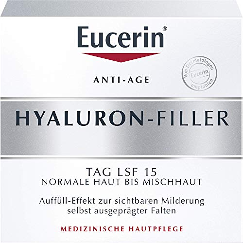 Eucerin Anti-Age Hyaluron-Filler Tag LSF 15 Creme,...