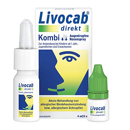 Livocab® direkt Kombi | Augentropfen (4 ml) und...