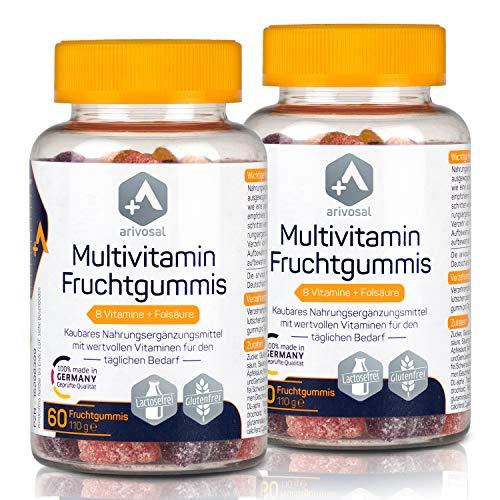 Multivitamin Kapseln zum Kauen – 2 x 60 kaubare...