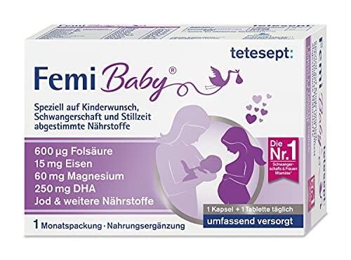 tetesept Femi Baby – 16 Nährstoffe für...