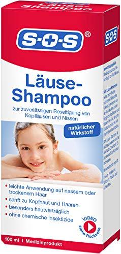 SOS Läuse-Shampoo, zuverlässige Befreiung von...