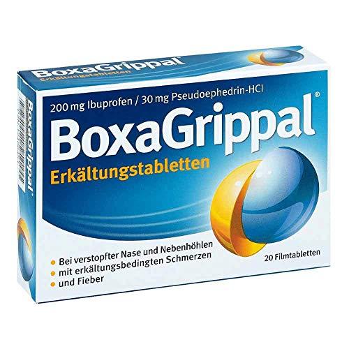 BoxaGrippal Erkältungstabletten, 20 St. Tabletten