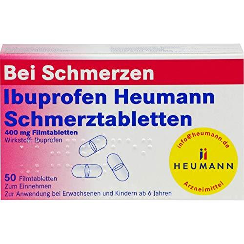 Ibuprofen Heumann Schmerztabletten, 50 St....