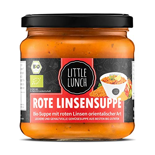 Little Lunch Bio Suppe Rote Linse | 350ml | 100%...