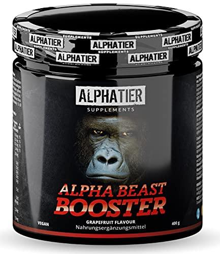 Pre-Workout BOOSTER - hochdosiert + vegan - Alpha...