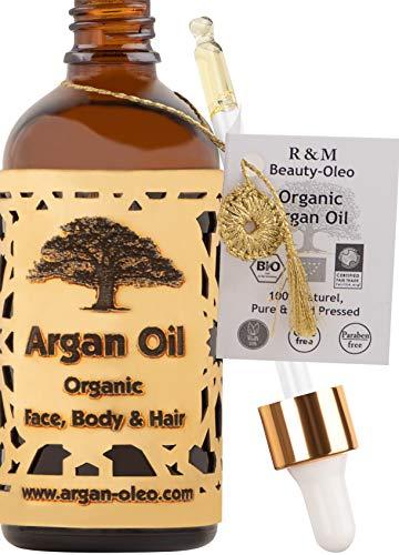 SEHR GUT IM TEST* – Bio Arganöl aus Marokko -...