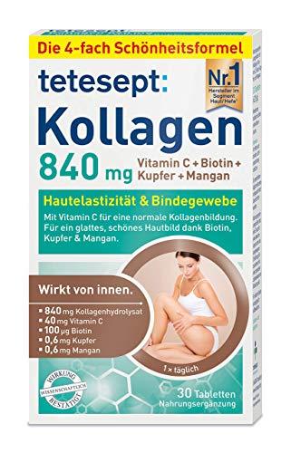tetesept Kollagen 840 mg –...
