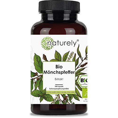 naturely® BIO Mönchspfeffer Extrakt - 180...