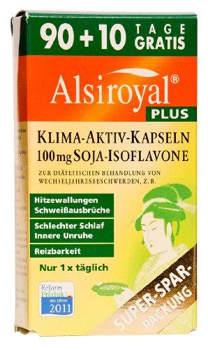 Alsiroyal PLUS Klima-Aktiv Kapseln, 90+10 Stück -...