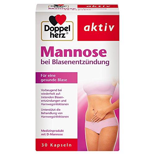 Doppelherz Mannose Kapseln 500 mg – Natürliche...