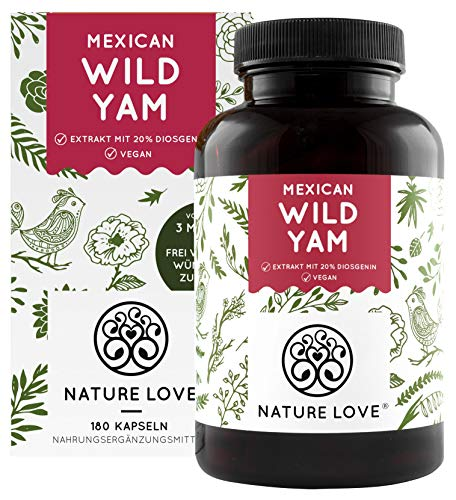 NATURE LOVE® Wild Yam Kapseln - Original Mexican...