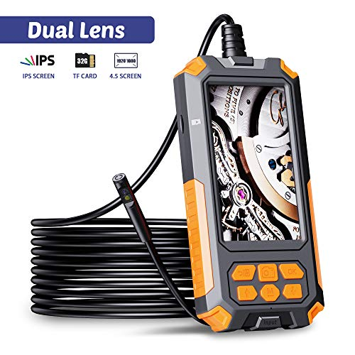 ILIHOME Dual Kameras Endoskopkamera, Doppelkamera...