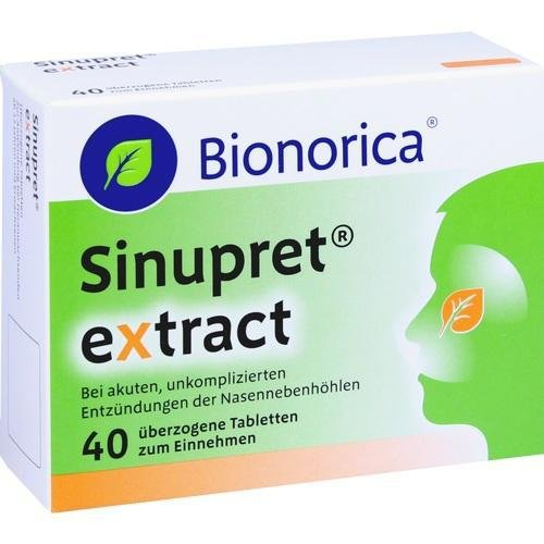 SINUPRET extract ueberzogene Tabletten 40St