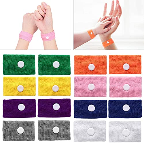 Healifty Akupressur Armband - 8 Paare -...