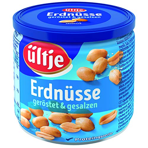 ültje Erdnüsse, geröstet & gesalzen, Dose 200g