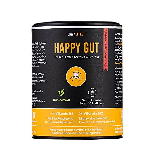 BRAINEFFECT HAPPY GUT- Fruchtiges Getränkepulver...