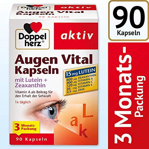 Doppelherz Augen Vital Kapseln mit Lutein +...